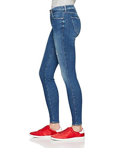 Blue Skinny para Vaqueros Air Wrangler Azul 17t Mujer qYpnxO