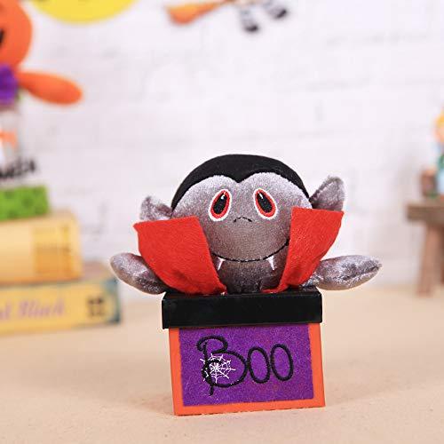 MOKO-PP Halloween Decorations Creative Halloween Vampire Pumpkin Candy Box Gift Box(B)