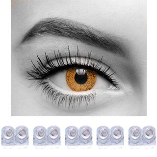 88240458679 Buy Diamond Eye One Day Contact Lenses Disposable Hazel Color Zero Power  Pack Of 10 Online at Low Prices in India - Amazon.in