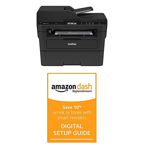 Brother MFCL2750DW Monochrome All-in-One Wireless Laser Printer, Duplex Copy & Scan with Dash Replenishment Digital Setup Guide