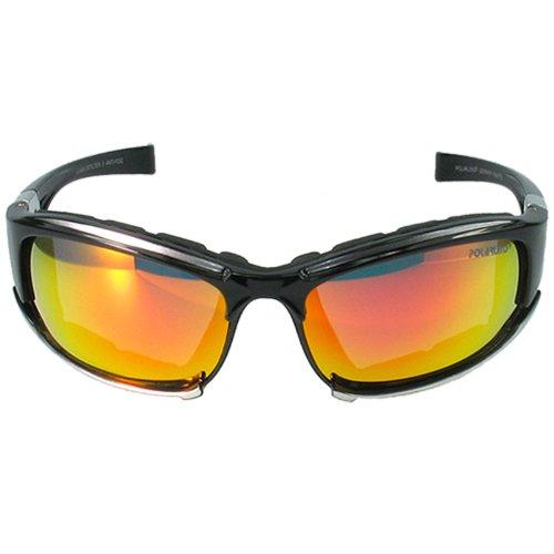 POLARLENS SERIES P15-01 Lunettes de velo cyclisme / Lunettes de sport / Lunettes de soleil / Lunettes de ski + sac en micro-fibre iOcf3wZ0E