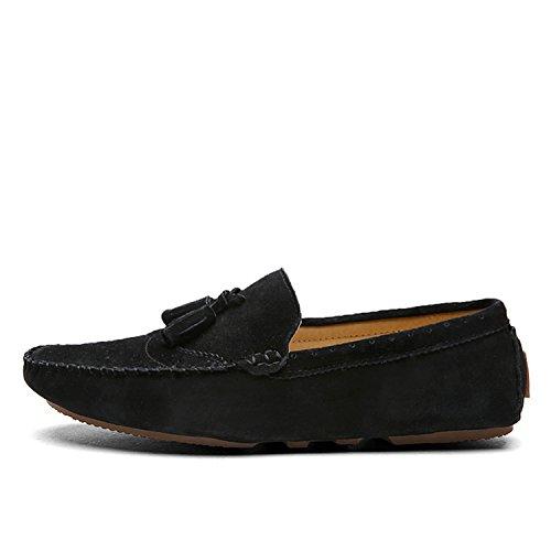 Mocassini Esthesis Scarpe Driving Uomo Nero in Shoes Mocassini morbide Casual Pelle Scamosciata rrX0q