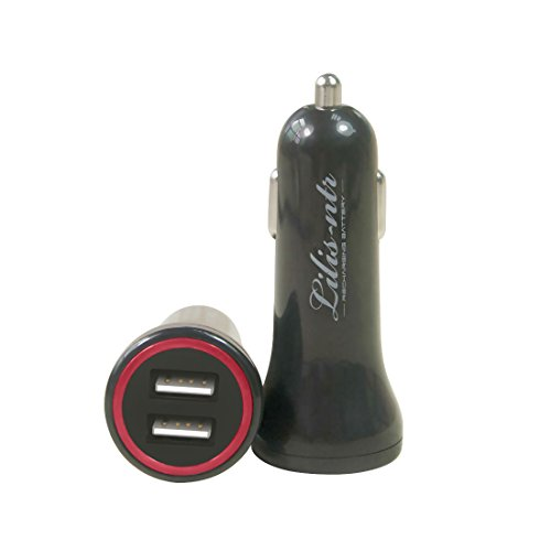 Car Charger 4.8A/24W Dual USB from Lili