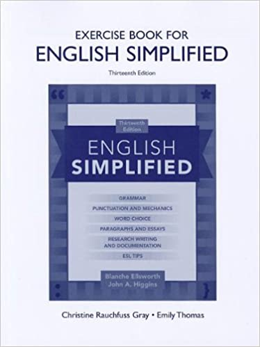 Amazon exercise book for english simplified 9780205074822 exercise book for english simplified 13th edition fandeluxe Gallery