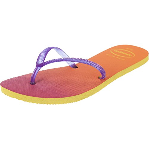 Havaianas - Sandalias de Caucho para mujer amarillo/morado