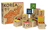 Uncle Goose Korean Character Blocks by Uncle Goose, Baby & Kids Zone