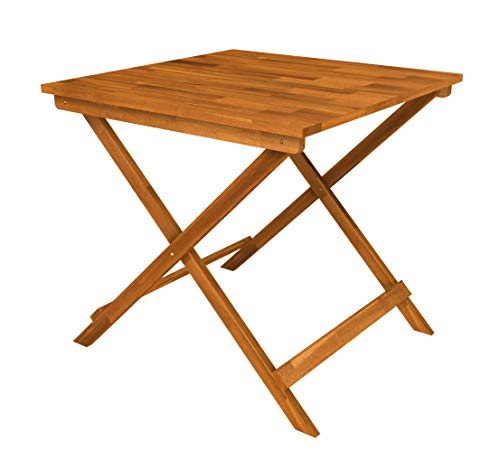 Interbuild Sydney Wood Folding Patio Table 29.5