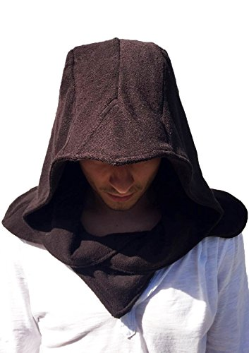 Brown Hood - The Cosplay Company Stealth Hood (Brown)
