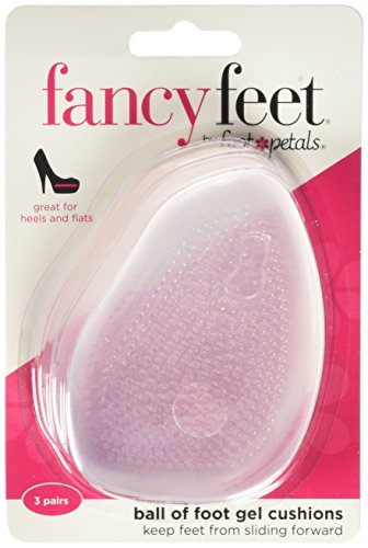 (Fancy Feet Women's Gel Ball of Foot Cushions 3 Pairs)