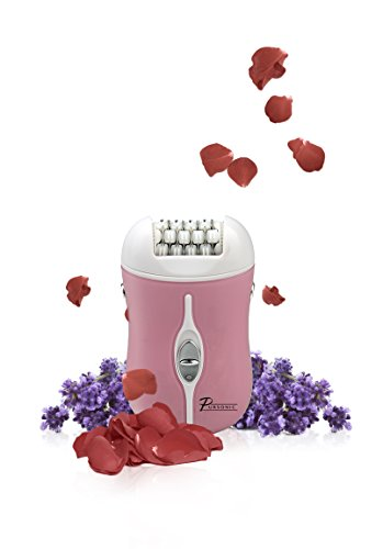 Pursonic Fe120P Two Speed Rechargeable Epilator, Pink, 0.8 Pound