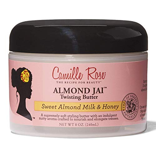 (Camille Rose Naturals Almond Jai Twisting Butter, 8 Ounce)