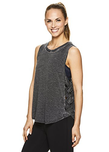 Used, Gaiam Women's Posey Racerback Yoga Tank Top w/Strappy for sale  Delivered anywhere in USA