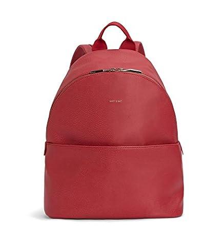 Matt & Nat July Dwell Backpack, Coral - Apple Coral Handle
