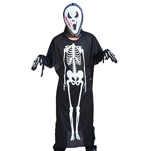 Party Diy Decorations - 2019 Adult Halloween Costume Skeleton Set Ghost Mask Gloves - Party Decorations Party Decorations Halloween Plastic Skull Skeleton Decor Prop Ghost Fancy Scary Costum -