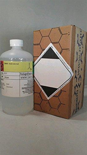 - Glacial Acetic Acid 1x Quart (32fl. oz)