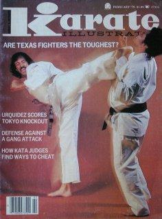 February 1978 Karate Illustrated Magazine Roy Kurban - 1978 Cover Illustrated Sports