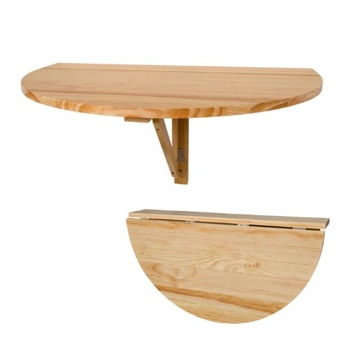 Sobuy Fwt10 N Table Murale Rabattable En Bois Table De