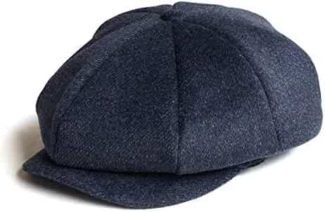 13b136e2 Newsboy Cap Flat Cap Wool Cabbie Hat Wool Tweed Men Women Classic Retro  with Soft Lining