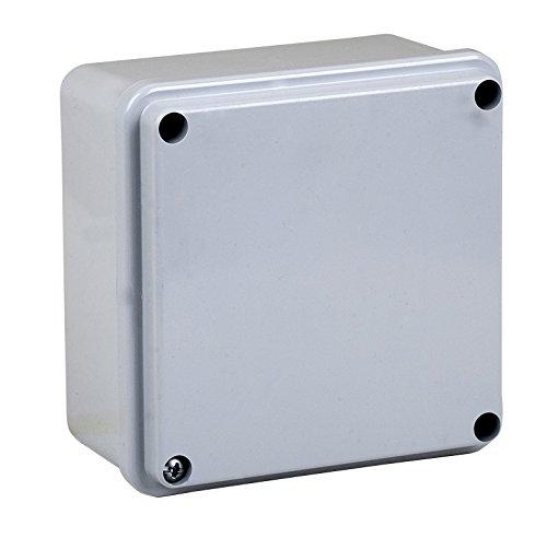Electraline 60557 Gris IP55 Taille 100x100 Boite D/érivation Lisse Entanche