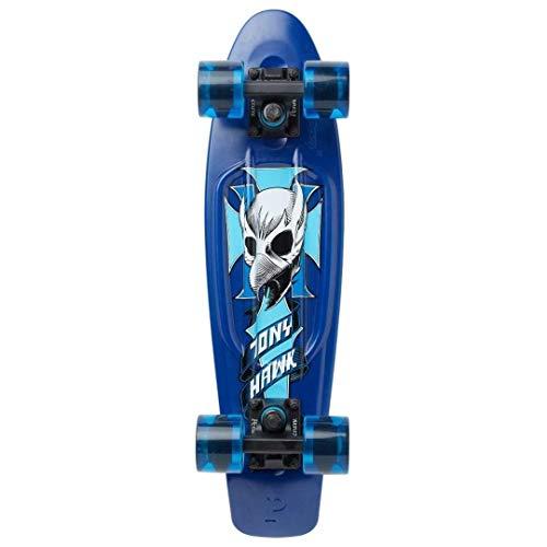 Penny Australia Complete Skateboard (Tony Hawk Crest- Blue, 22