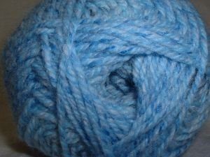 Plymouth Encore Worsted Colorspun Yarn Multi Blue Drift 7827