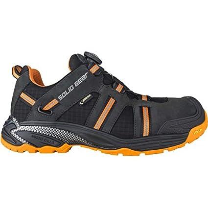 Solid Gear sg8000644 Hydra GTX – Zapatos de seguridad S3 talla 44 NEGRO/NARANJA