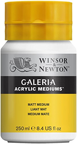 Acrylic Matt (Winsor & Newton Galeria Acrylic Matt Medium, 250ml)