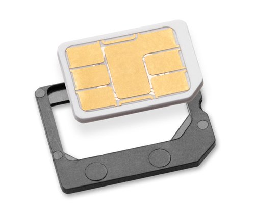 Sadapter 999765-SNCA Nano SIM to Micro SIM Card Adapter - Retail Packaging - Gray