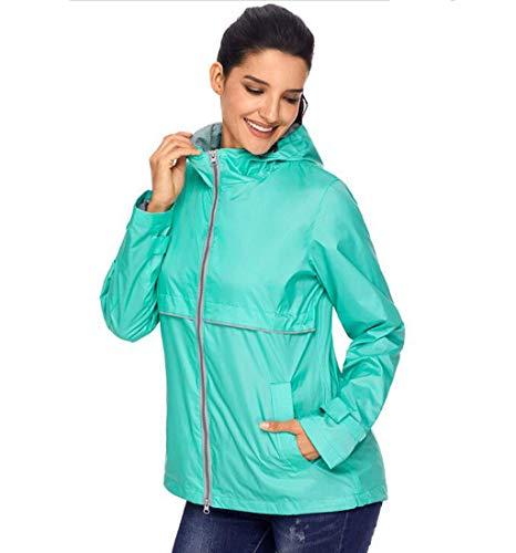 Scuro Pink Outdoor Impermeabile Donna Protezione colore Solare Xl Giacca Da Antivento Montagna Di Acvxz Abbigliamento Cappotto Dimensioni Verde qAT1xnUOw