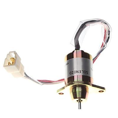 Friday Part Fuel Solenoid M806808 for John Deere 2210 2305 4100 790 990 X 495 X595 X 740 Gator: Automotive