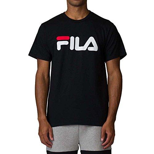 Fila Men's Printed T-Shirt, Black, - Filas Classic