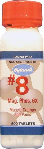 Mag.Phos 6x (500Tablets) Tissue Salt (Cell Salt) Brand: Hylands (Standard Homeopathic)