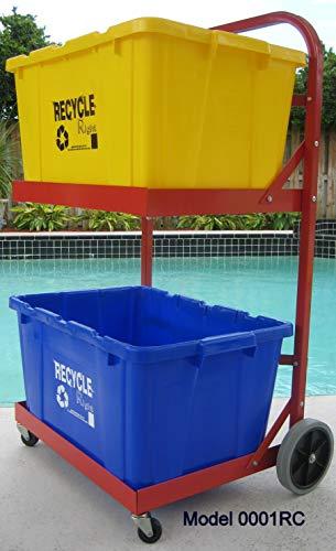 (Recycle Caddy Bin Cart