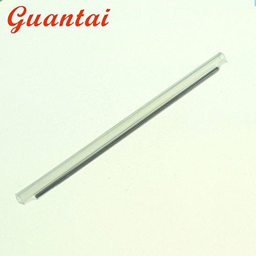 Fusion Splice Sleeve (Guantai Dia 2.4mm 60mm (L) Fiber Optic Fusion Splice Protector Protection Sleeves, Clear Heat Shrinkable Tube -1000pcs)