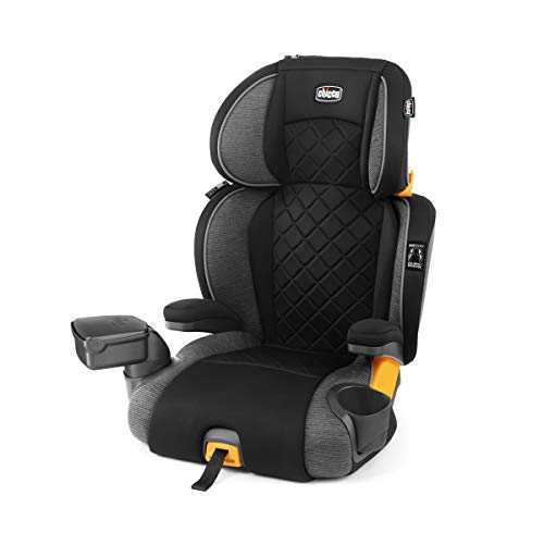 Review Of Chicco KidFit Zip Plus 2-in-1 Belt Positioning Booster Car Seat - Taurus, Black/Grey