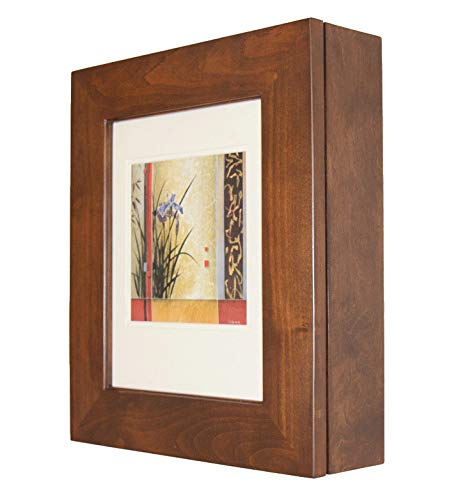 Fox Hollow Furnishings Picture Perfect Medicine Cabinet - a Wall-Mount Picture Frame -