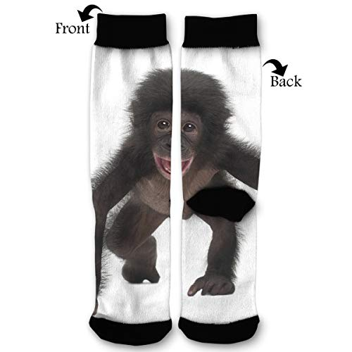 Fashion Travel Breathable Socks Cute Baby Chimpanzee Men & Women Running Casual Socks