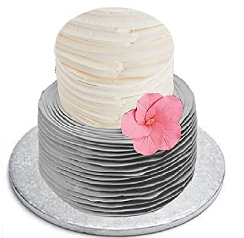 Elegant Wedding Birthday Gum Paste Cake Decoration Hand Crafted