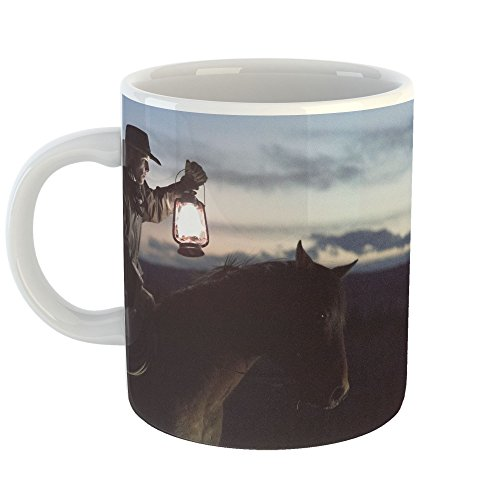 Westlake Art - Horse Light - 11oz Coffee Cup Mug - Modern Picture Photography Artwork Home Office Birthday Gift - 11 Ounce (E53D-A33F2) (Mule Saddle Trail)