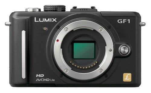 Panasonic デジタル一眼カメラ GF1 ボディ エスプリブラック DMC-GF1-K