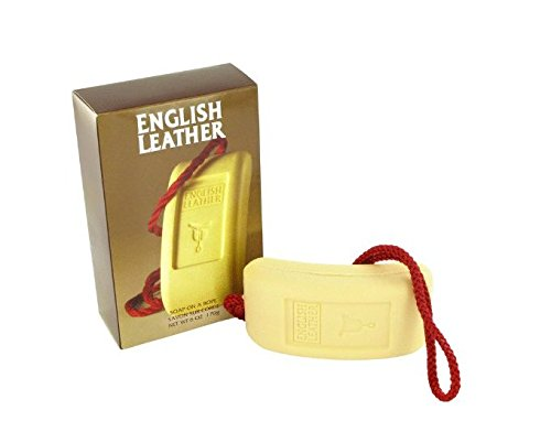 Dana English Leather By Dana For Men. Soap On A Rope 6.0-Ounces