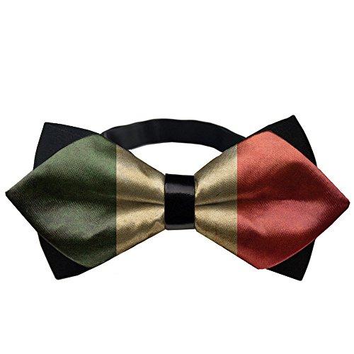 - YEAHSPACE Men's Vintage Italian Flag Formal Pretied Bow Tie Neckwear Gift