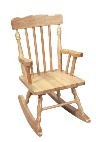 Child's Rocking Chair - Finish: Natural