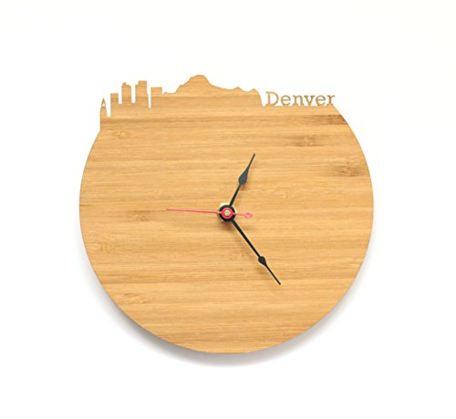 Denver Skyline Clock