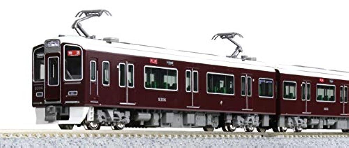 [해외] KATO N게이지 한큐 전철9300 계쿄토 선기본 세트 4냥 10-1365 철도 모형 전철