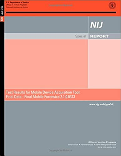 Amazon com: Test Results for Mobile Device Acquisition Tool: Final