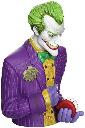 Monogram Batman Arkham Asylum: Joker Bust (Superman Bust Bank)