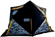 Frabill Shelter Hub Fortress   Heavy-Duty Ice Fishing Shelter with Hub Extensions for Stability & Easy Set