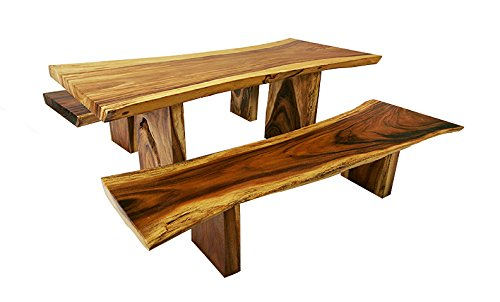 Live Edge Dining Table Set (Conact us for Custom Size)