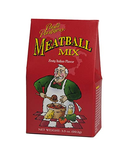Pasta Partners Meatball Mix, 3.5 Ounce